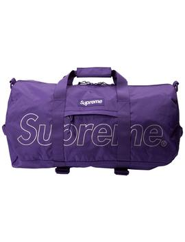 Supreme Duffle Bag (Fw18) Purple by Stock X