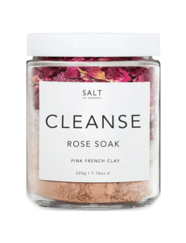 Salt By Hendrix Rose Cleanse 220g 220g by Salt By Hendrix