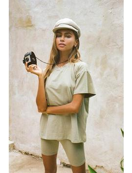 Khaki Tee by Sabo Skirt