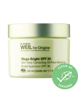 Dr. Andrew Weil For Origins™ Mega Bright Spf 30 Skin Tone Correcting Oil Free Moisturizer by Origins