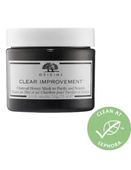 Clear Improvement™ Charcoal Honey Mask To Purify And Nourish by Origins