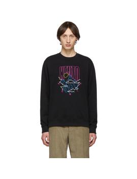 Black Rice Bags Sweatshirt by Kenzo