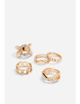 Chain Ring Set by Justfab