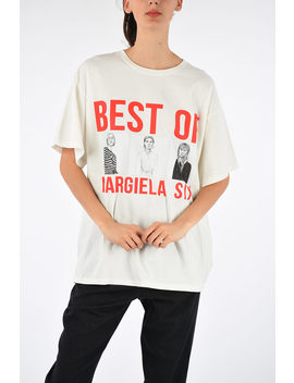 Mm6 Printed The Best Of Margiela Six T Shirt by Maison Margiela