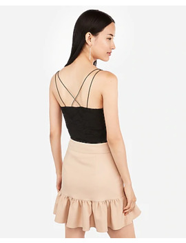 Lace Strappy Back Cami by Express