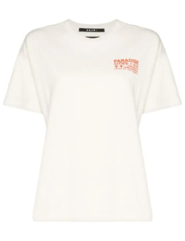 Everyday Paradise Printed T Shirt by Ksubi