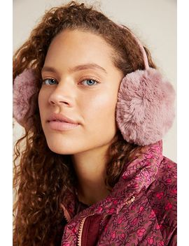 Ellie Faux Fur Earmuffs by Anthropologie