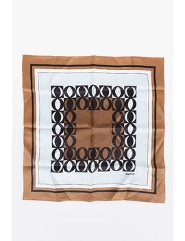 40x40cm Silk Foulard by Tom Ford