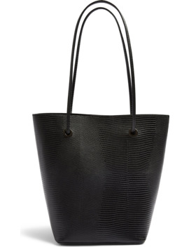 Salt Lizard Embossed Faux Leather Tote by Topshop