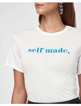 Self Made Graphic Boyfriend Tee by Express