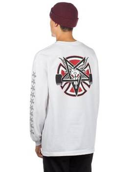 X Thrasher Pentagr Cr Longsleeve T Shirt by Independent