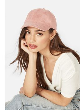 Fiona Faux Suede Cap by Justfab