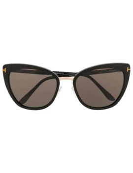 Oversized Cat Eye Sunglasses by Tom Ford Eyewear