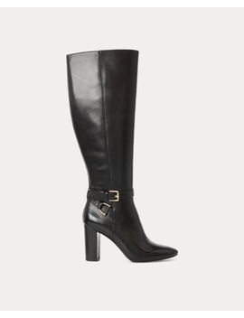 Annesley Leather Boot by Ralph Lauren