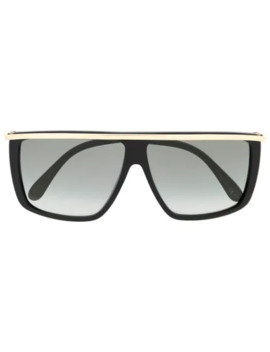 Metal Embellished Graphic Sunglasses by Givenchy Eyewear