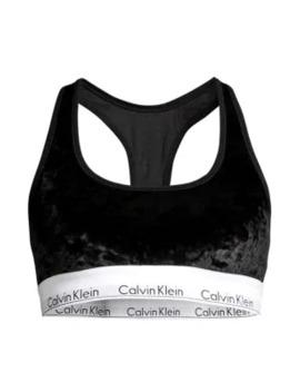 Velvet Modern Cotton Bralette by Calvin Klein