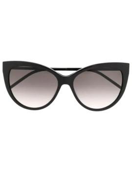 Sl M48 Sa Cat Eye Sunglasses by Saint Laurent Eyewear