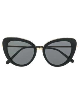 Cat Eye Shaped Sunglasses by Stella Mc Cartney Eyewear