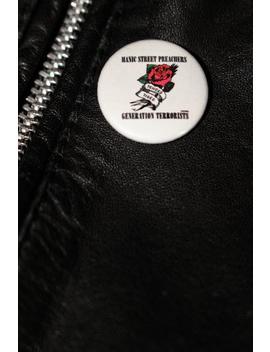 Generation Terroristen   Handgemachte Button Abzeichen   Manic Street Preachers by Etsy