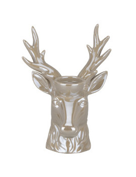 Ceramic Deer Candle Holder by The Range