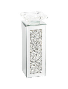 Tall Crystal Crystal Pillar Holder by The Range
