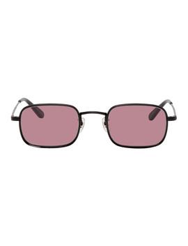 Black & Purple Steiner Sunglasses by Garrett Leight