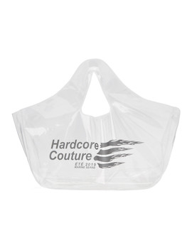 Transparent 'hardcore Couture' Tote by Marine Serre