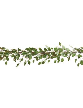 Canvas Pre Lit Eucalyptus Leaves Garland, 9 Ft by Canadian Tire
