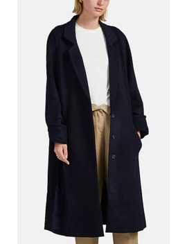 Ora Wool Blend Belted Coat by Roucha