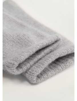 100% Cashmere Gloves by Mango