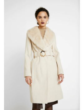 Collar Belted Coat   Mantel by Miss Selfridge