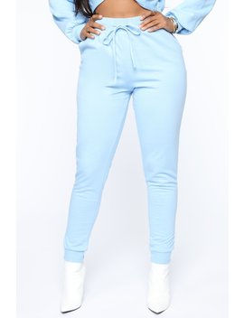 My Love Is Your Love Jogger   Blue by Fashion Nova