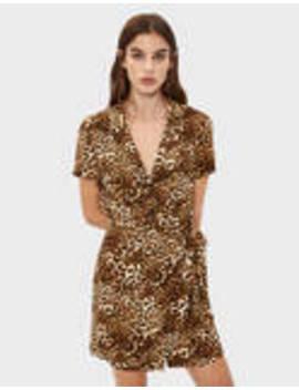 Vestido Camisero De Leopardo by Bershka