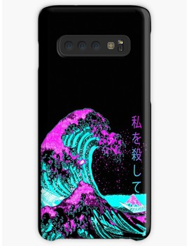 Aesthetic: The Great Wave Off Kanagawa   Hokusai Case & Skin For Samsung Galaxy by S Ery St
