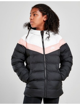 Nike Girls' Sportswear Colour Block Jacket Junior by Nike