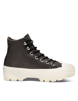Women's Chuck Hi Lugged Retrogade Waterproof Booties In Black by Converse