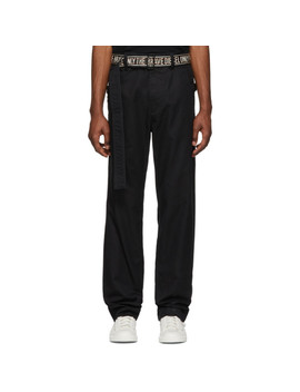 Black P Toshi Trousers by Diesel