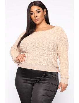 All In The Same Top   Taupe by Fashion Nova