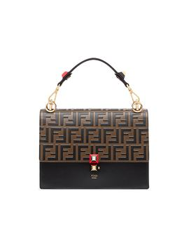 Fendi Kan I Shoulder Bag Ff Black/Brown by Stock X
