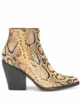 Exclusive To Mytheresa – Rylee Snake Effect Leather Boots by Chloé