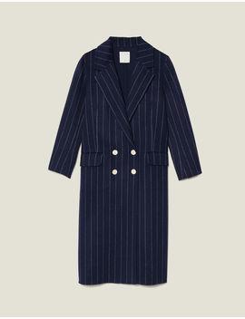 Long Double Faced Coat by Sandro Paris