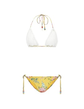 Zinnia Mismatched Bikini by Zimmermann