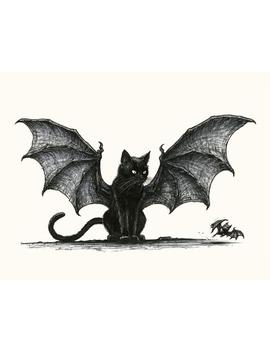 Cat Bat by Etsy