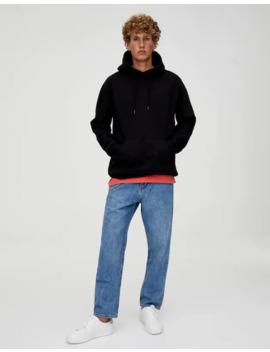 Φούτερ Basic με κουκούλα και τσέπη σε στυλ Hoodie by Pull & Bear