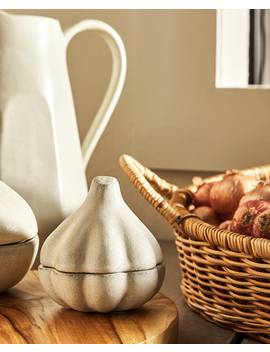 Garlicshaped Terracotta Jar   Collection   New In by Zara Home