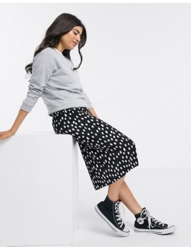 New Look Petite Be Kind Slogan Sweat In Grey by New Look