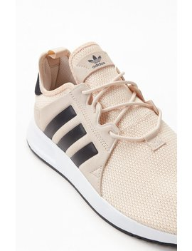 Adidas Tan & Black X Plr Shoes by Pacsun