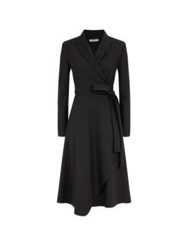 Tailored Wrap Dress by Max Mara