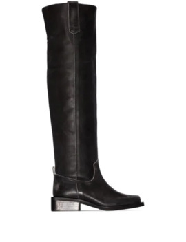 Chunky Over The Knee Boots by Ganni