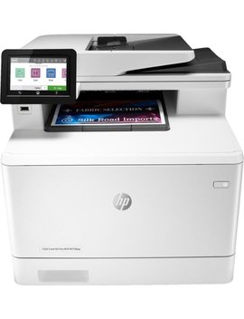 Laser Jet Pro M479fdw Wireless Color All In One Printer   White by Hp